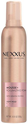 (Nexxus Volumizing Foam Styler Mousse Plus, 10.6 oz, Pack of 4 )