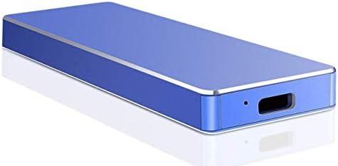 Portable External Hard Drive 1TB 2TB,External Hard Drive Ultra Thin External HDD Compatible for PC, Mac,Desktop, Laptop(1TB-A Blue)