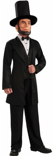 [Deluxe Abe Lincoln Costume] (Abraham Lincoln Deluxe Adult Costumes)