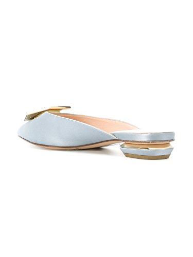 Grey Satin NICHOLAS Women's KIRKWOOD Sandals 901A41TLS1N39 6x7t7q