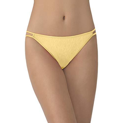 - Vanity Fair Women's Illumination String Bikini Panty 18108, Blonde, Small/5