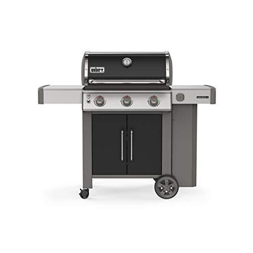 (Weber 61015001 Genesis II E-315 3-Burner Liquid Propane Grill, Black)