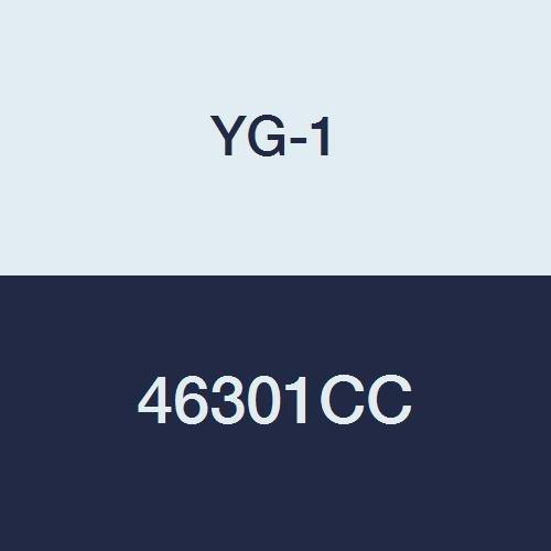 TiCN Finish YG-1 46301CC HSSCo8 End Mill Regular Length Double 5//16 4 Flute 3-1//2 Length Ball Nose
