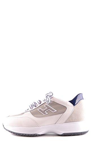 Hogan Homme MCBI148409O Blanc Cuir Baskets