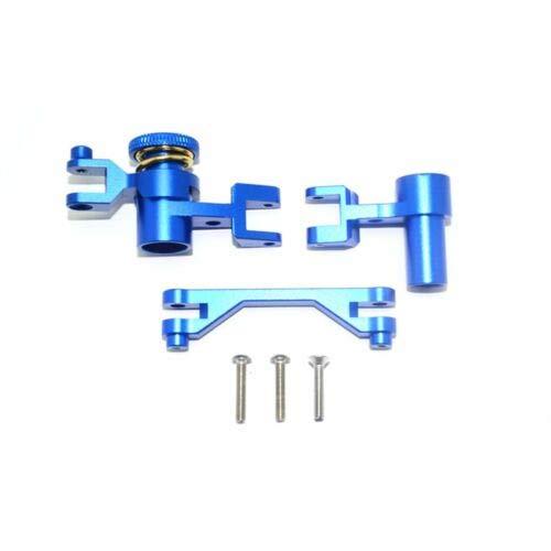 FidgetGear 1 Set CNC Alloy Steering Assembly Kit for 1/7 Unlimited Desert Racer UDR Blue Alloy Steering Assembly Set