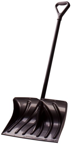 Suncast SC2700 20-Inch Snow Shovel/Pusher Combo with Wear Strip And D-Grip Handle