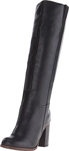 Aldo Women's JEN Riding Boot - Black Leather - 6.5 B(M) US