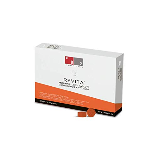 REVITA Tablets for Hair Revitalization (Hair Thinning Supplement) (Best Hair Growth Tablets)
