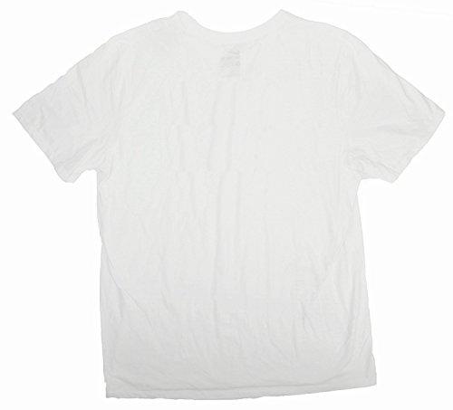Do White Black Men's Swoosh It Sportswear Just Tee NIKE W8Ht0n