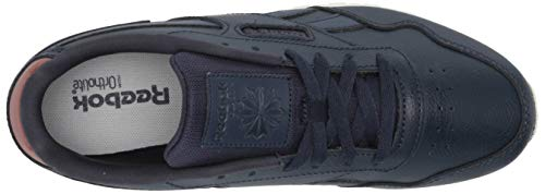 Reebok mens Reebok Classic Harman Run Sneaker, Vector Navy Mel/Boulder Brown/Chalk, 15 US