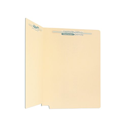 Medical Arts Press Match 14pt Full Cut End Tab File Folders with 2 Permclip Fasteners (250/Carton) (File End Tab)