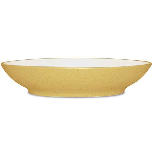 Noritake Colorwave Mustard Coupe - Noritake Colorwave Mustard Coupe Pasta Bowl