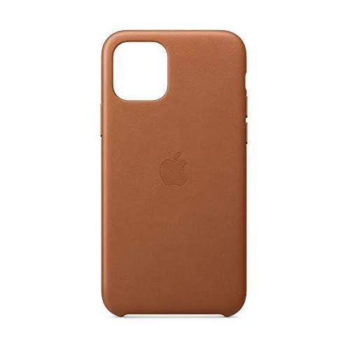chollos oferta descuentos barato Apple Funda Leather Case para el iPhone 11 Pro Marrón Caramelo