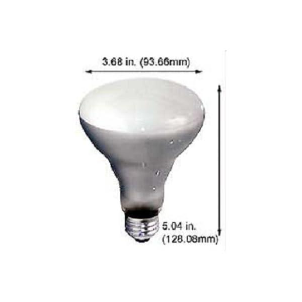 Pack of 6 65BR30/FL 65 Watt BR30 Reflector Incandescent E26 Medium Base 120 Volt Indoor Flood Light Bulb 4