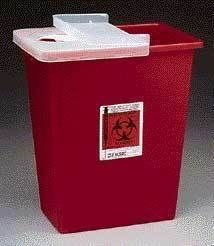 Kendall Healthcare Sharps Disposal Containers, Large Volume, Tyco Healthcare/Kendall 8980