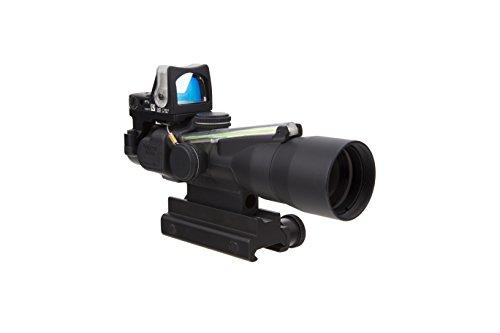 Trijicon TA33-C-400160 3x30 ACOG Riflescope with Green Chevron and RM05G