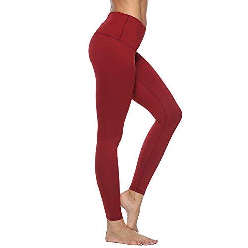 6d3ef76c123a85 FEIVO Yoga Pants, Women's Power Flex Yoga Pants Tummy Control Workout Yoga  Capris Pants Leggings
