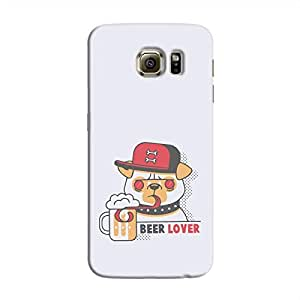 Cover It Up - Beer Dog Galaxy S6 Edge Plus Hard Case