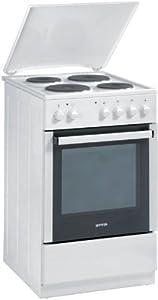 Gorenje E 52103 AW Elektroherd mit emaillierter Kochmulde / A / 53 L / weiß