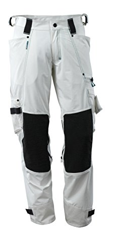 Mascot 17079-311-06-82C58 Trousers Safety Pants, White, 82C58 by Mascot (Image #1)