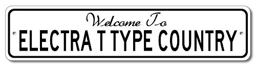 Buick Electra T Type - Welcome to Car Country Sign - Aluminum 4