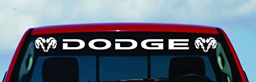 Dodge Ram HEMI Windshield Logo 1500 2500 3500 Vinyl Decal Sticker Vinyl GIFT (50
