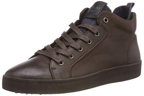 a Dk 18 Alto Marrone Collo REPLAY Exodus Brn Sneaker Uomo 0qSSUE
