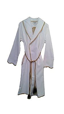 Black Rose Organic Arus Women Collection, 100% Organic Turkish Cotton Bathrobe For Women - Made In Turkey