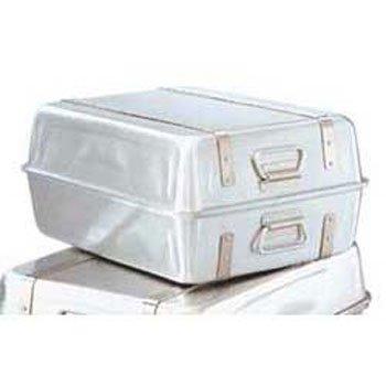 Vollrath 68360 23-1/4 Quart Double Roaster Set with Straps, Aluminum, NSF