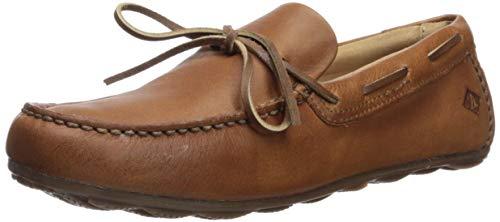 Sperry Mens Hampden 1-Eye Loafer, Tan,