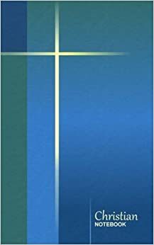 Book Christian Notebook: Simple Cross - Blue Green ( journal / cuaderno / portable / gift ) (Religious & Spiritual) by smART bookx (2013-11-26)