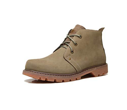Con Británicas Grandes Verde Herramientas Masculinos Zapatos Invierno E Green Casuales De Otoño zOYqgO