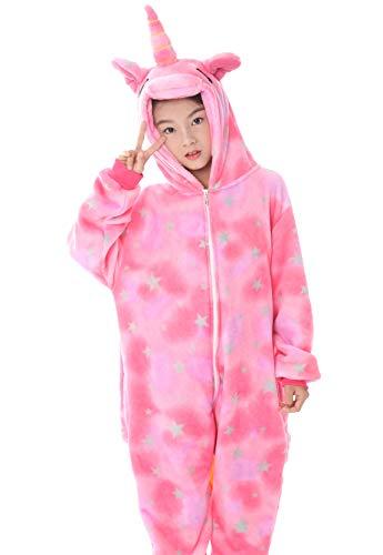 SONGSONGBEAR Unisex Adult Boys Girls Unicorn Onesie One Piece Cosplay  Animal Costume Halloween Xmas Pajamas fd8899925