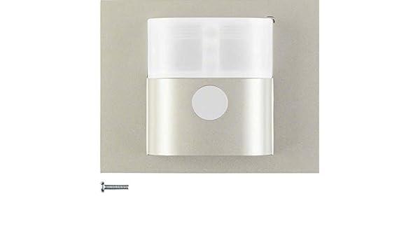 Hager - Detector movimiento standard 1,1m k5 acero: Amazon.es: Bricolaje y herramientas