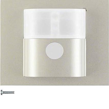 Hager - Detector movimiento standard 1,1m k5 acero