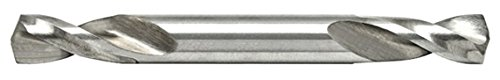 12 Pack Alfa Tools SH50205DB 1//8 High-Speed Steel Double End Split Point Sheet Metal Drill with Bright Finish