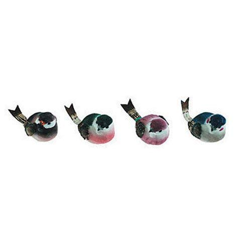 NATURES FRIENDS BRD6 Bird Mushroom 3In 1Pc Asst 4 Multicolor by NATURES FRIENDS (Image #1)