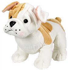 Webkinz Bulldog Puppy 8.5