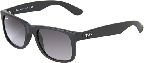 ray-ban-justin-rubber-black-frame-grey-gradient-lenses-51mm-non-polarized