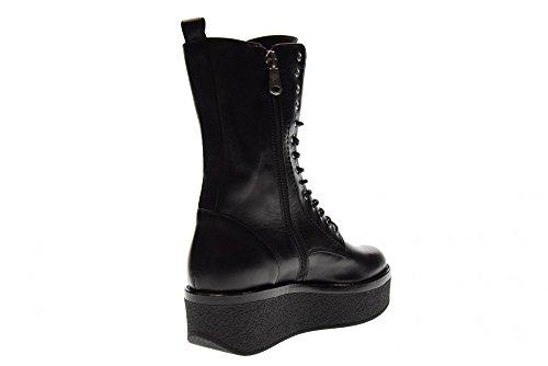 JANET SPORT Amphibische Schuhe mit Plattform CLASH 40804 BLACK Black