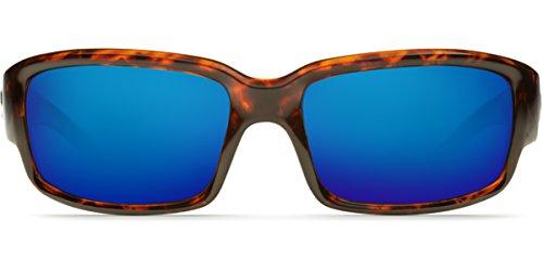 Caballito Mar Mirror Sunglasses Tortoise Frame Blue Del Costa q4CEpAn