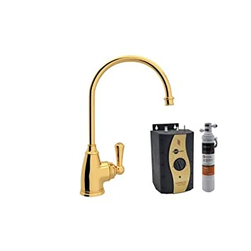 Rohl U.KIT1325L-IB-2 Special Order Only Non-Cancelable and Non-Returnable Kit Perrin /& Rowe Kitchen Hot Water Dispenser with Single Lever and Inca Brass