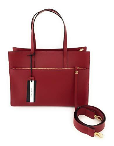 à rouge femme porter pour Loristella Sac Rouge l'épaule à Large wHZRwaWq
