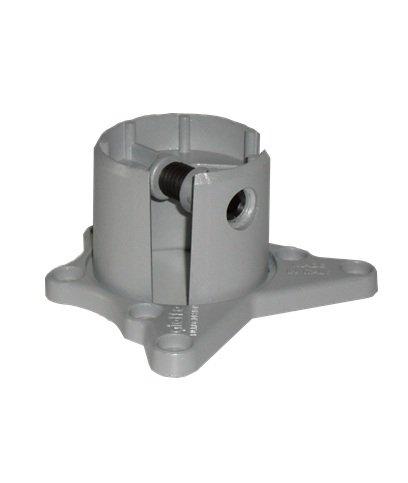 durante Tischbein wei/ß lackiert H 710 mm /Ø 60 mm Tischfu/ß sehr stabil