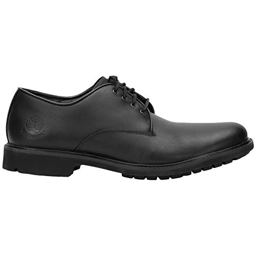 Timberland Men's Earthkeepers Stormbuck Plain Toe Oxford,Black Smooth Full Grain Leather,US 7.5 M ()