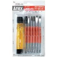 アネックス(ANEX) セーフティ検電ドライバー 高圧 収納ケース付 No.2095-H