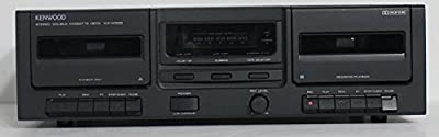 Kenwood KX-W595 Double Cassette Tape Deck Player Recorder from Kenwood