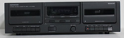 Kenwood Cassette - Kenwood KX-W595 Double Cassette Tape Deck Player Recorder