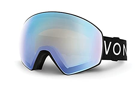 Dba Von Zipper GMSNLJET VonZipper Unisex Jetpack Goggle White//Fire Charcoal Veezee Inc WFC