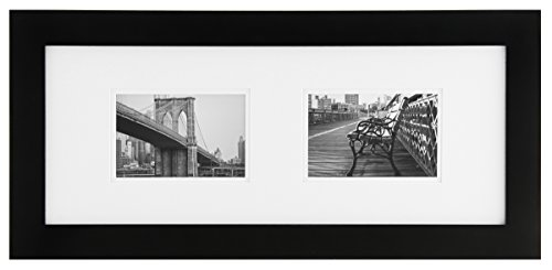 Burnes of Boston Gallery Solutions 8X20 Frame, Matted to 2-6